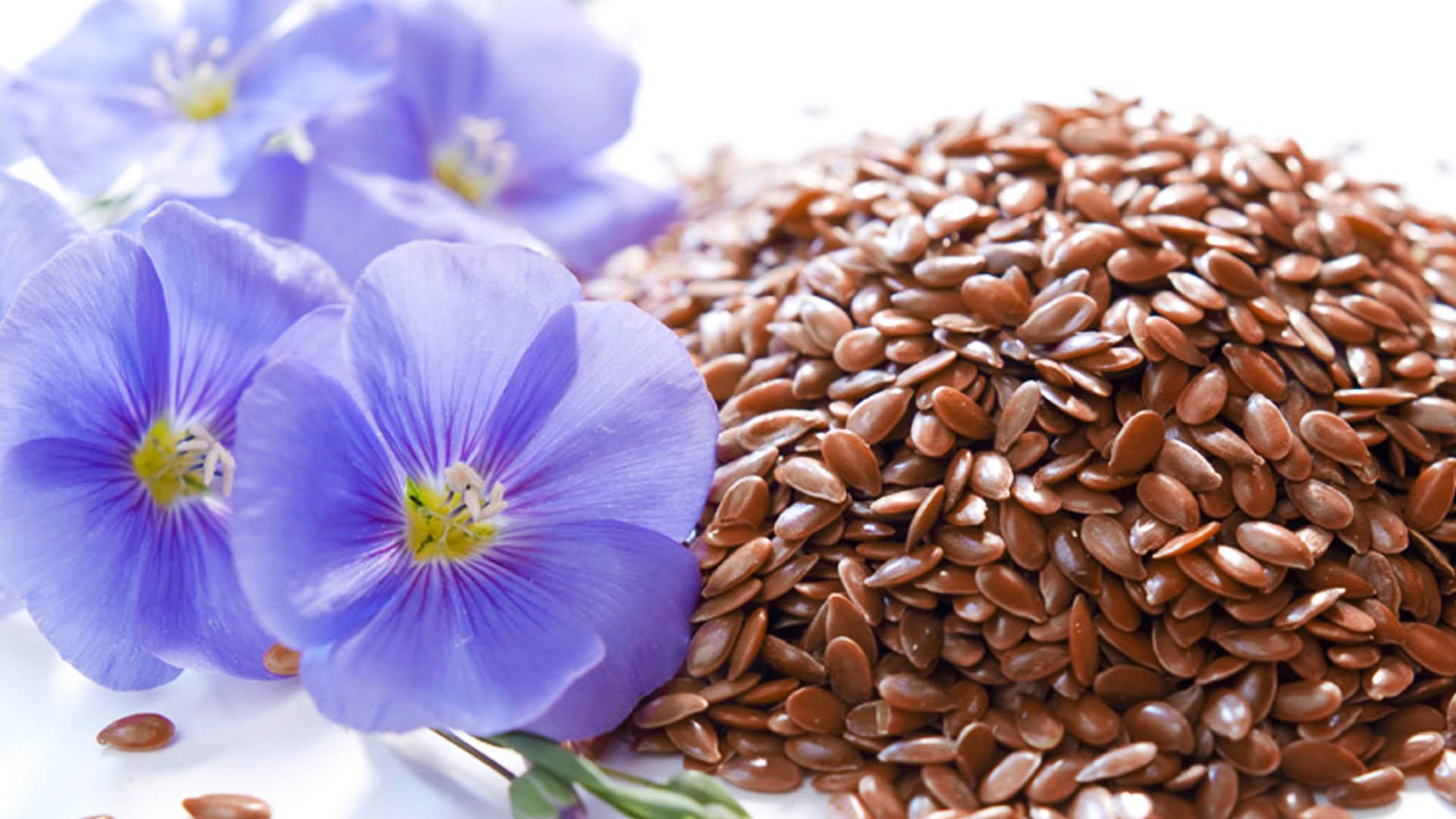 Семя льна для сухой нормальной жирной и комбинированной кожи