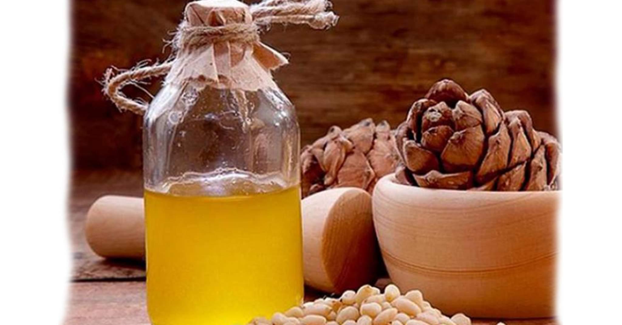 масло кедрового ореха для десен и зубов