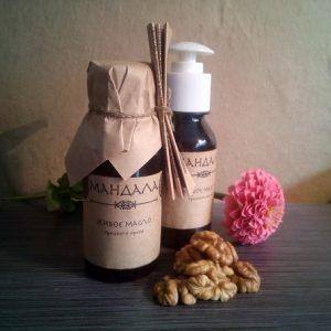 Живое масло грецкого ореха «Мандала»
