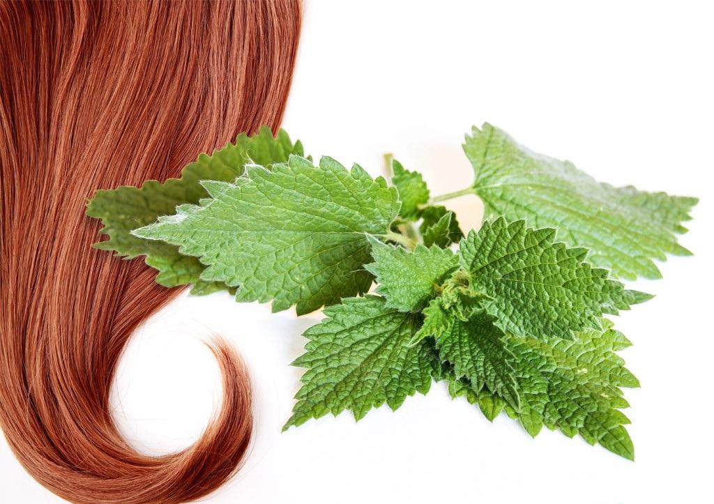 травяная маска для волос (убтан) с пионом