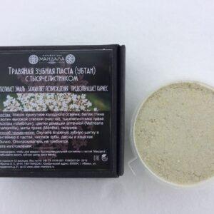 Травяная зубная паста (убтан) с тысячелистником